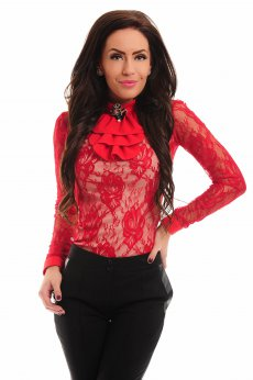 Body LaDonna Gentle Lace Red