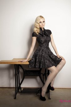 Rochie Artista Lovely Cut Black