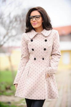 LaDonna Deep Side Cream Coat