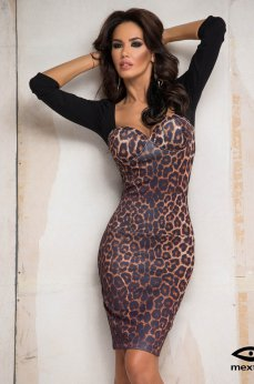 Rochie Mexton Spicy Choice Brown
