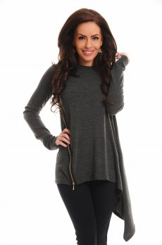 Pulover PrettyGirl Genuine Grey