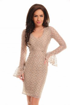 Rochie De Revelion PrettyGirl Attribute Cream