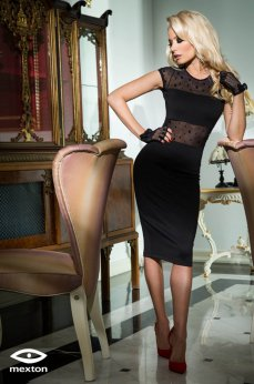 Mexton Reliable Love Black Dress