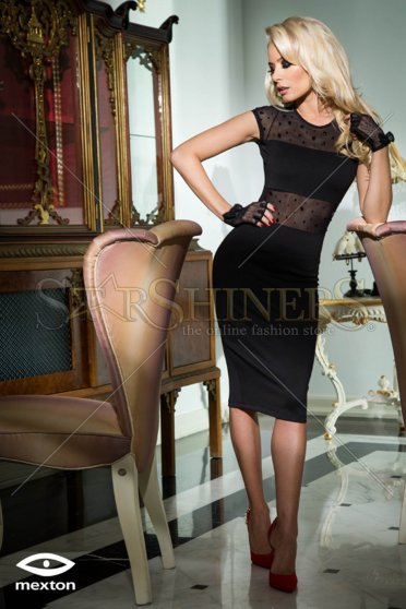 Rochie Mexton Reliable Love Black