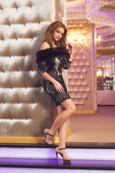 Mexton Stunning Fever Black Dress