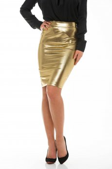 PrettyGirl Lucidity Gold Skirt