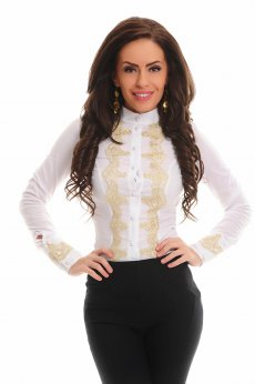 LaDonna Simply Fatale White Shirt