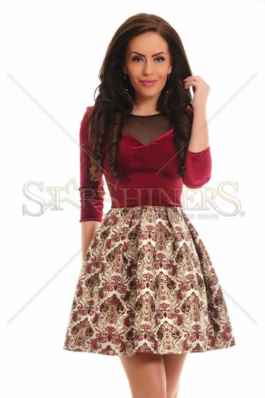 Rochie LaDonna Beautiful Flash Burgundy
