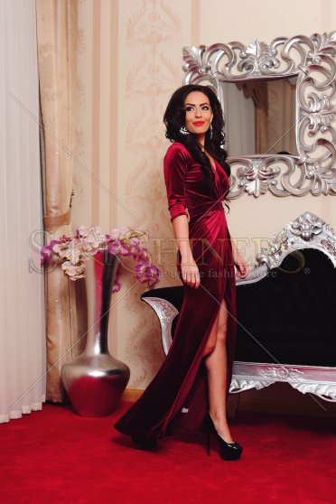 Rochie De Revelion LaDonna Wild Seduction Burgundy