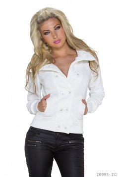 Warmish Situation White Jacket
