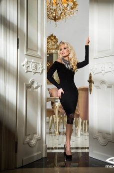 Mexton Impressive Mode Black Dress