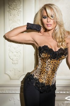 Mexton Lovely Instinct Brown Corset