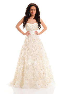 Sherri Hill 2404 White Dress