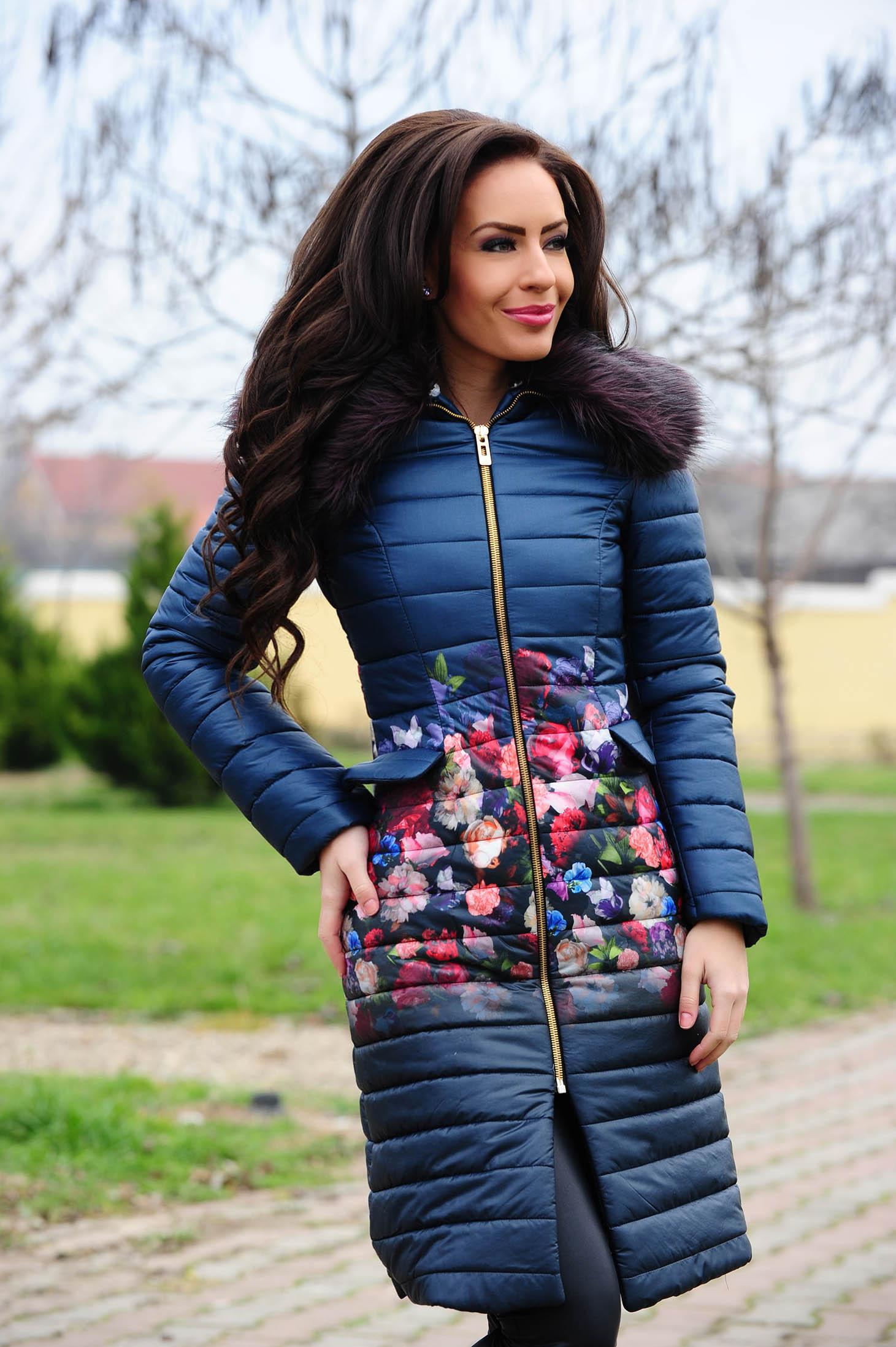 Kék LaDonna Magical Spirit Kabát 2b4b670ccf