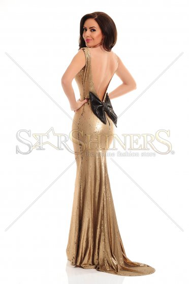 Rochie De Revelion LaDonna Caressing Shine Gold