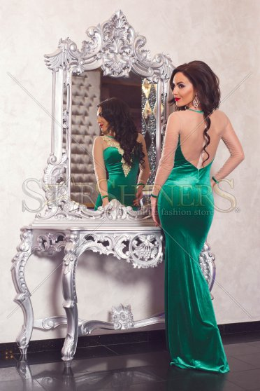 Rochie De Revelion LaDonna Selected Moments Green