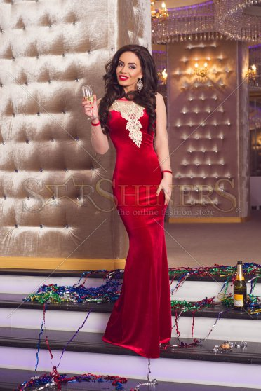 Rochie De Revelion LaDonna Selected Moments Red
