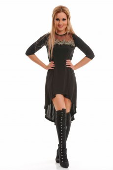 Fofy Deep Pleasure Black Dress