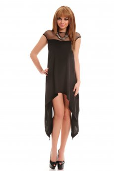 Rochie Fofy Clear Infusion Black