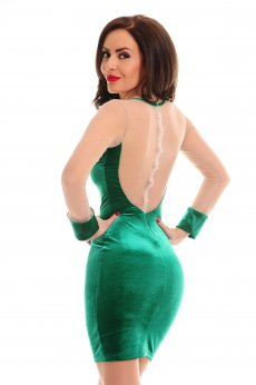 Rochie De Revelion LaDonna Magic Motion Green