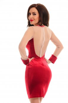 Rochie De Revelion LaDonna Magic Motion Red