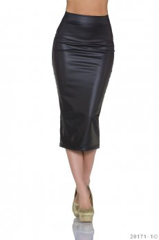 Tight Connection Black Skirt
