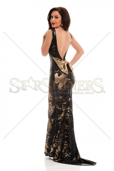 Rochie De Revelion LaDonna Caressing Shine Black
