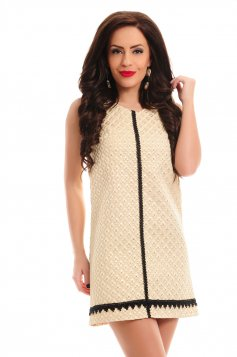 Rochie LaDonna Flirty Powder Gold