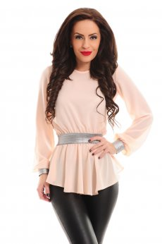 LaDonna First Concept Peach Blouse