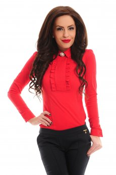 Camasa Fofy Adorable Effect Red