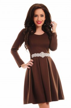 Rochie StarShinerS Delicacy Brown