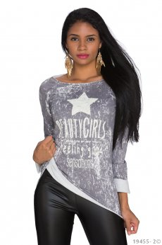 Bluza Lovely Gossip Grey
