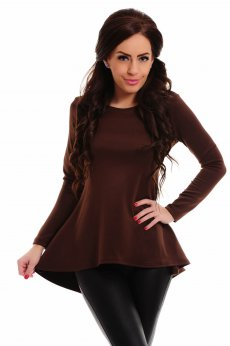 StarShinerS Enigmatic Brown Blouse