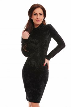 Ana Radu Dashing Allure Black Dress