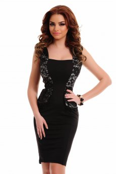 Fofy Stunning Flavor Black Dress