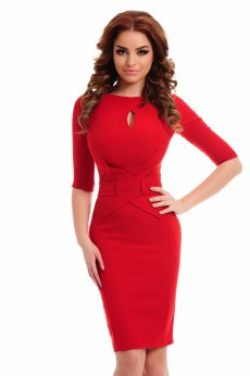 Artista Eternal Thrill Red Dress