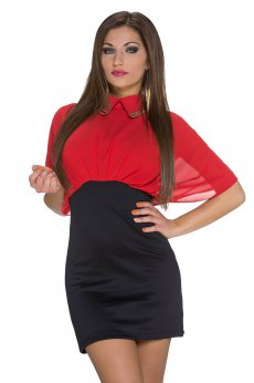 Rochie Unexpected Storm Red