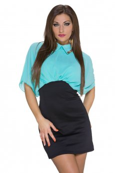 Rochie Unexpected Storm Turquoise