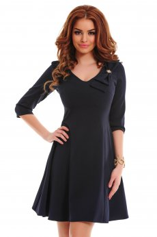 LaDonna Fantastic Bow DarkBlue Dress