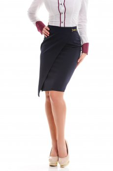 LaDonna Intuitive Effect DarkBlue Skirt