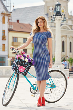StarShinerS Stillness DarkBlue Dress