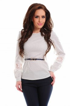 Camasa LaDonna Overstated Love White