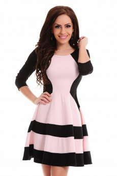 Rochie StarShinerS Magnified Black