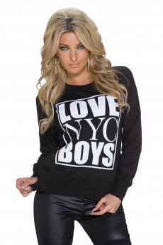 Young Love Black Sweater