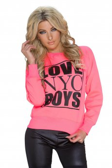 Young Love Pink Sweater