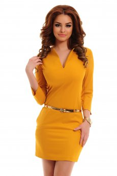 Rochie PrettyGirl Special Look Yellow