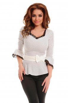 LaDonna Lady Look White Shirt