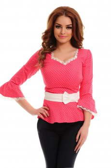 LaDonna Lady Look Coral Shirt