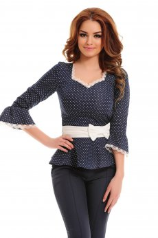 LaDonna Lady Look DarkBlue Shirt