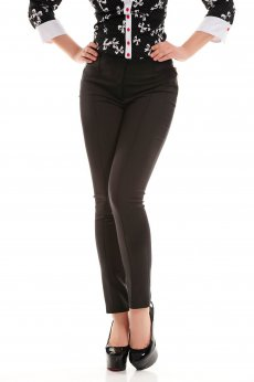 Artista Lovely Fit Black Trousers